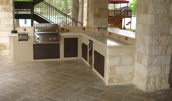 Outdoor Kitchen Build Cleveland, Ohio